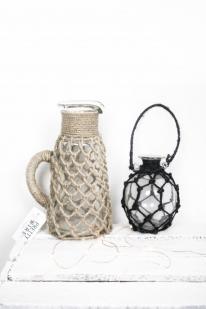 petit-vase-en-jute-noir-10x25cm