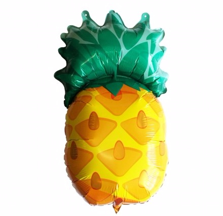 ballon-ananas-aluminium-pour-helium