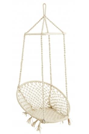 chaise-en-macrame-suspendue-ecrue